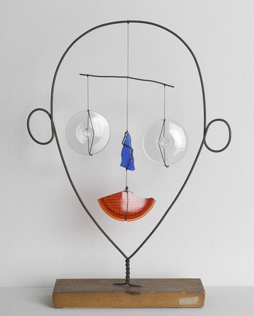 Scrap project inspiration by Alexander Calder.