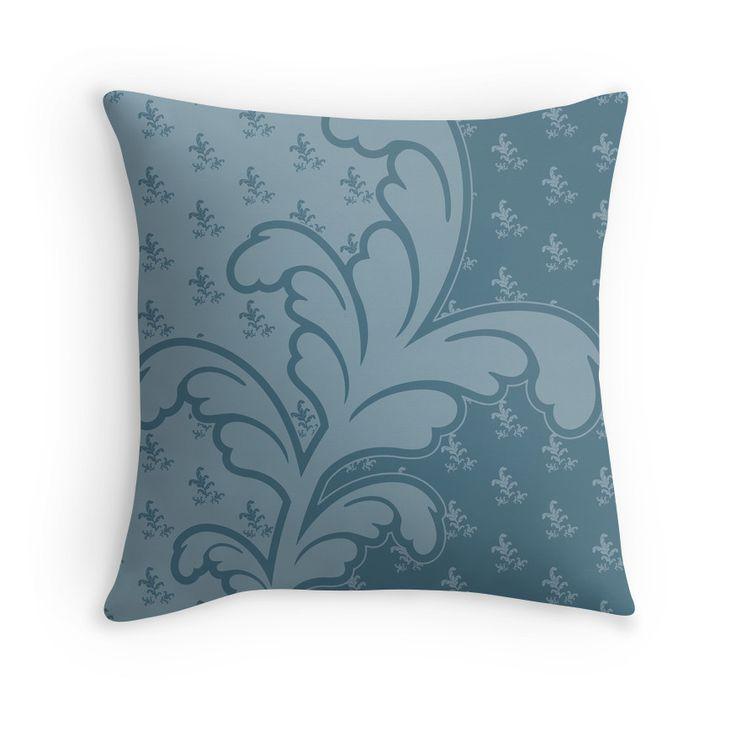 Ferny Teal - Pillow