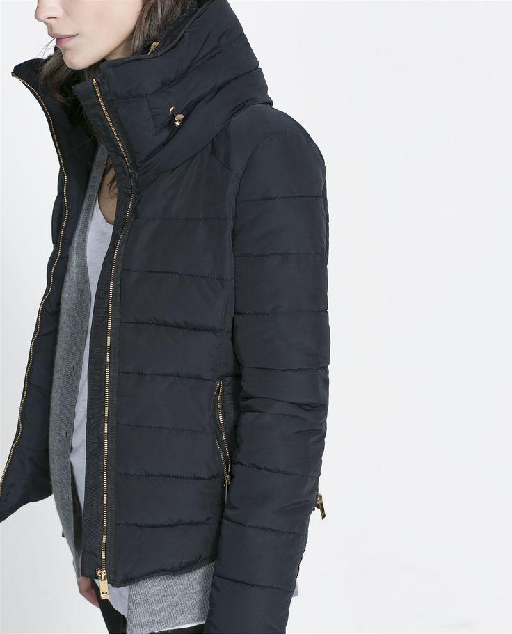 Michael Kors Black Jacket With Gold Zipper
