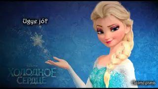 ♫ Jégvarázs - Legyen hó Karaoke / Frozen- Let it go hungarian karaoke - YouTube