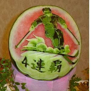 Best Watermelons Images On Pinterest Carved Watermelon Food - Incredible sculptures carved watermelon