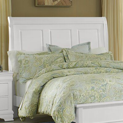Darby Home Co Erving Wood Headboard Size Twin Color Soft White