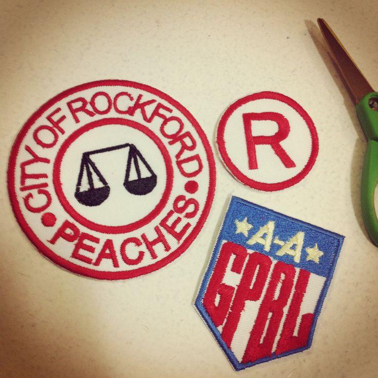 A league of their own embroideries. I love my Pfaff!