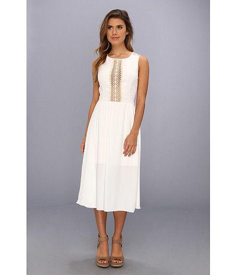 Dolce Vita Noella-1 Midi Length Dress w/ Lace Back Natural