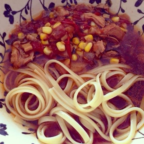 Callie-Anne Cooks.: Asian Chicken & Ginger Soupy-Broth.