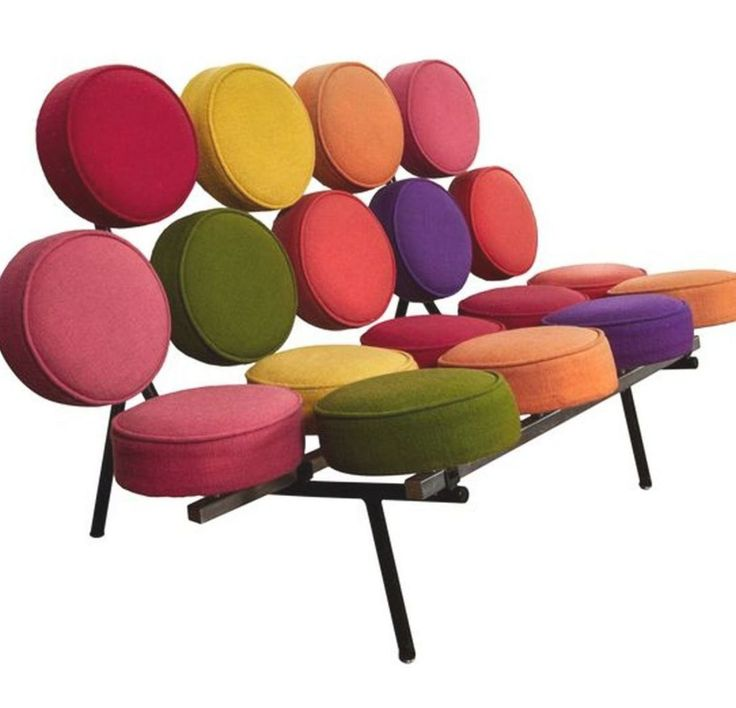 Marshmallow sofa by George Nelson, 1958. at 1stdibs