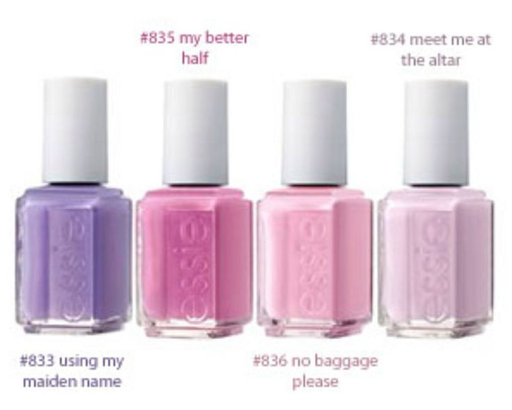 Essie Nail Polish Wedding Collection 2013 | Splendid Wedding Company