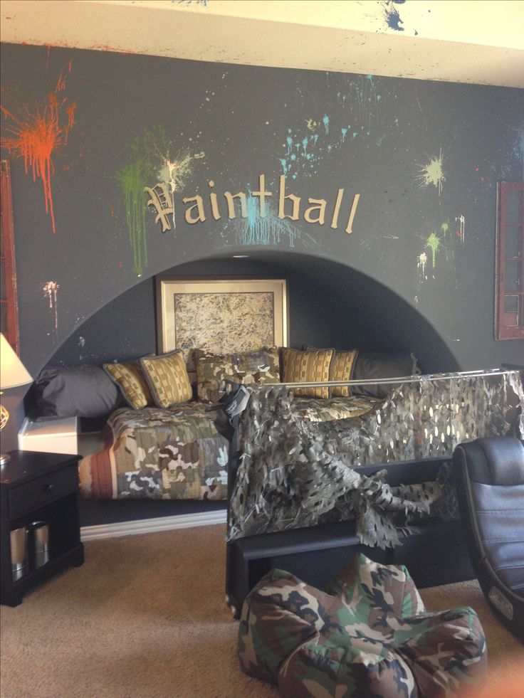Boys Bedroom Paintball Amp Camo The Day I Have Kids