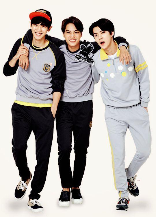 Ivy Club : Chanyeol, Kai, and Sehun