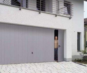 Hormann Garage Doors with Pedestrian Doors - Hormann Sectional and Up & Over- The Garage Door Centre
