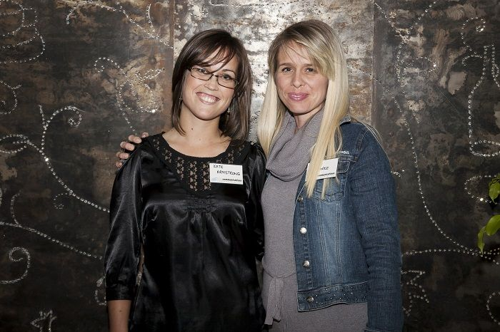 Katie Armstrong and Kelly Burke from Flux Communications