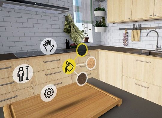 IKEA laat klanten rondlopen in hun nieuwe keuken via HTC Vive  Als je een nieuwe keuken wilt dan kun je die al een aantal jaren zelf ontwerpen bij IKEA. Via een webapplicatie kun je invoeren hoe groot de ruimte is waar ramen en deuren zitten etc. Vervolgens kun je de verschillende keukenkastjes en apparatuur in je keuken slepen en blijven aanpassen tot je je ideale keuken [...]  Lees IKEA laat klanten rondlopen in hun nieuwe keuken via HTC Vive verder op Numrush