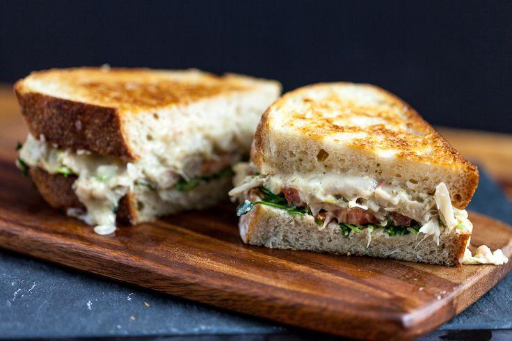 "Jackfruit ""Tuna"" Melt Sandwich  |  Keepin' It Kind"