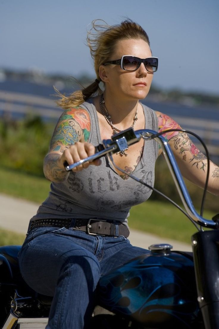 365 best images about passion on pinterest vintage for Biker chick tattoos