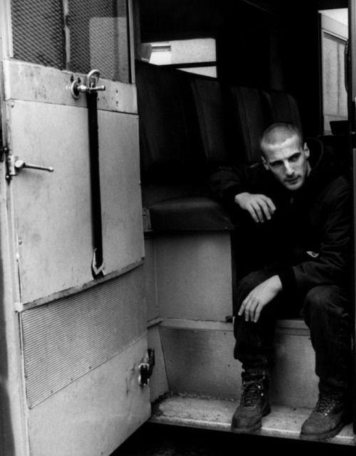 Mathieu Kassovitz while filming La Haine (1995)