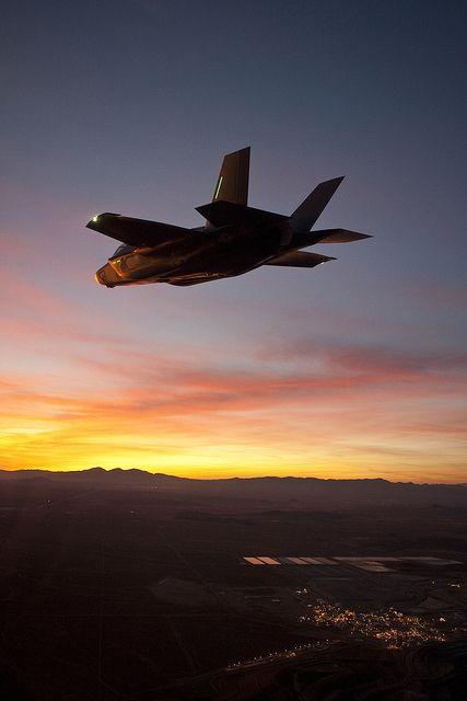 Lockheed Martin F-35A Performs First Night Flight  by Lockheed Martin on Flickr.
