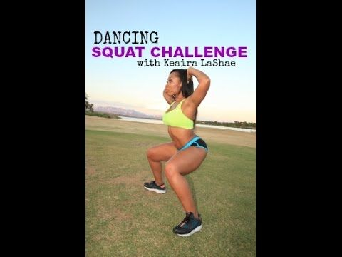 Want to lift your booty and tone your legs? This is a fun, sexy dancing squat challenge for ALL LEVELS to do 4 times a week for BEST RESULTS! CLICK LINK TO D...
