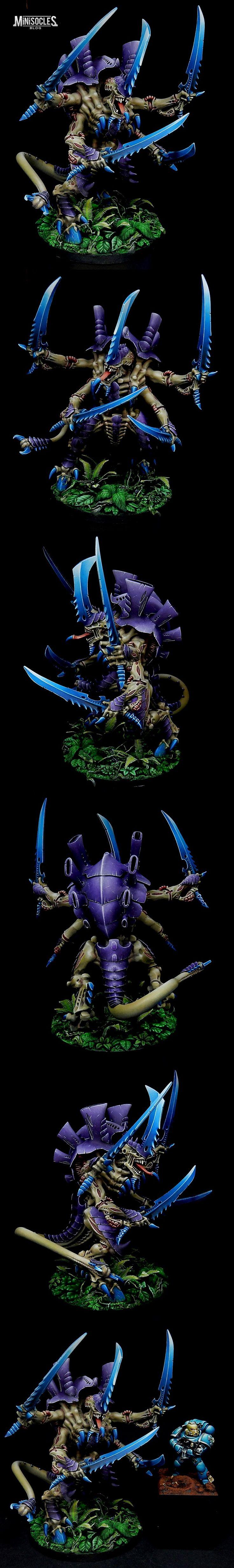 Maître des essaims (Swarmlord) Tyranide - dim69                              …