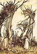 "New artwork for sale! - "" Man In The Wilderness by Arthur Rackham "" - http://ift.tt/2oA0hxy"