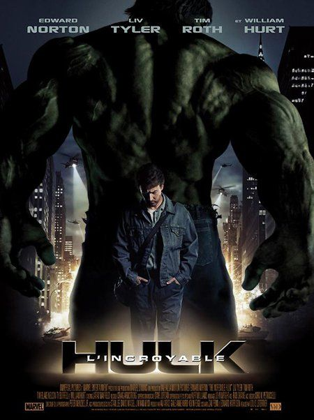 L'Incroyable Hulk, Louis Leterrier, 2008