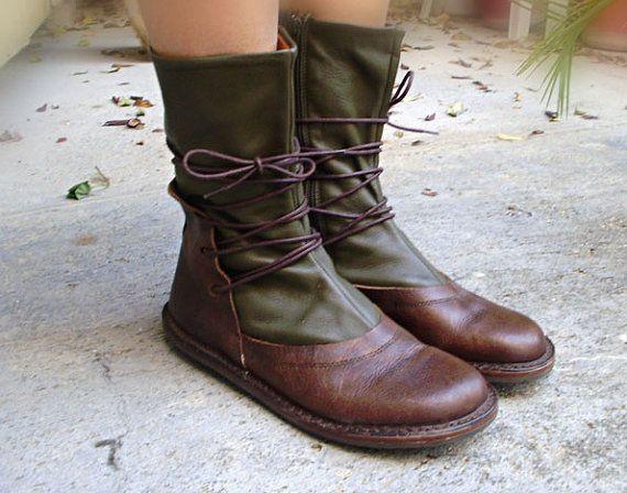 Botas de cuero Trippen tamaño de zapatos los por oldinkblue en Etsy