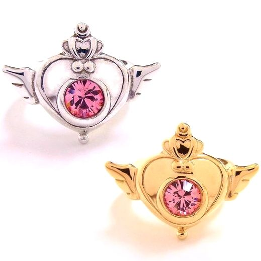 New official Sailor Moon SuperS Brooch Design Ring from Japan! http://www.moonkitty.net/reviews-buy-sailor-moon-jewelry.php #SailorMoon #Ring #Jewelry