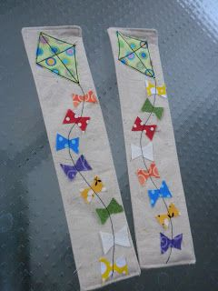 Kite Bookmarks -- because books let you fly.000
