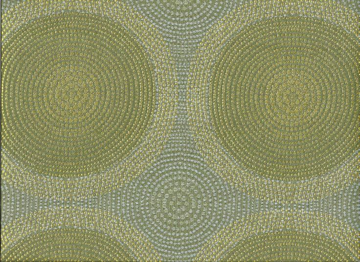 Arc/com Shibori Seafoam Modern Contemporary Mosaic Circles Upholstery Fabric in Crafts, Sewing & Fabric, Fabric | eBay