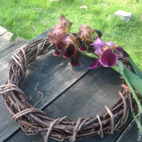 Купить Венок Основа для венка из виноградной лозы - венок, основа, основа венка, основа для творчества