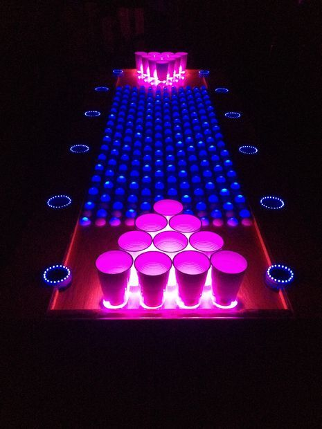 25 Best Ideas About Led Beer Pong Table On Pinterest Beer Pong Tables House Party And Diy