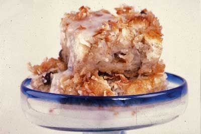 Triple Coconut Bread Pudding | CAKES AND DESSERTS | Pinterest