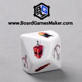 Customize your own dice with D10 round corner dices. #boardgames #dice