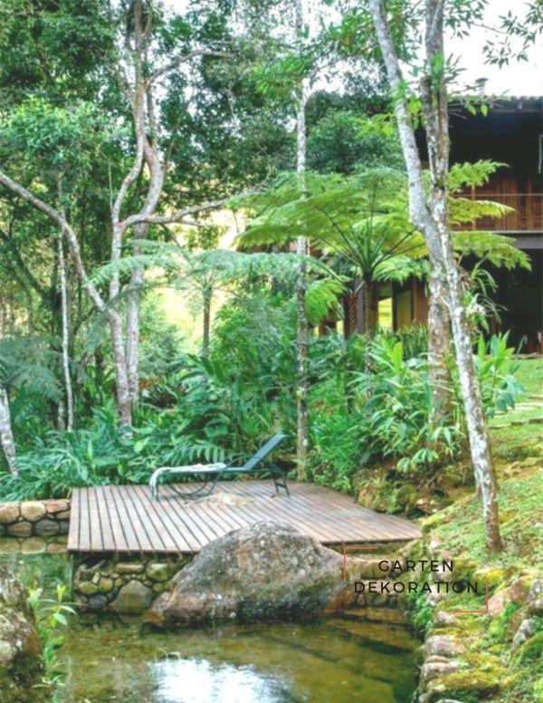 Elegant Schöne Garten Bilder Gartendekorationen Gartenteich #bilder #garten  #gartendekorationen #gartenteich #schone