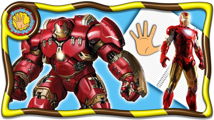 Ironman Finger Family Book Nursery Rhymes. Ironman Finger Family Lyrics Welcome dear friends! I present to your attention a brand new video about seven fingers decorated in a magazine for children. Heroes favorite cartoon literally come to life on the pages of the magazine. In a series of videos designed as a magazine about seven fingers will be presented to the most popular characters of cartoons. In this video take part cartoon characters Ironman. Cheerful family fingers song won the…