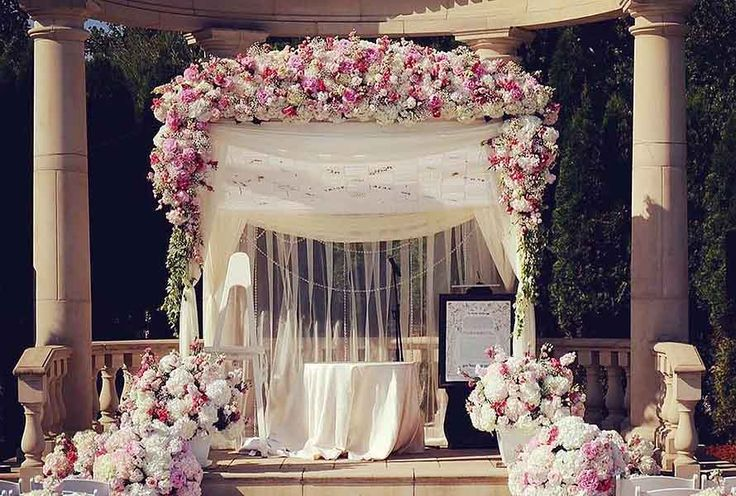 25+ Best Ideas About Wedding Arbor Decorations On
