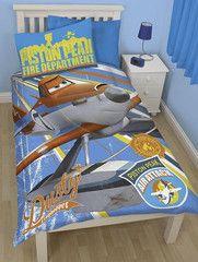 DISNEY PLANES ~ 'Rescue' Single Bed Reversible Quilt Set