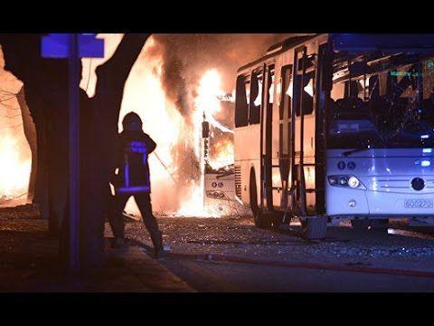 Камера наблюдения сняла взрыв в Анкаре : https://www.youtube.com/watch?v=NKgFVW3ASIA&feature