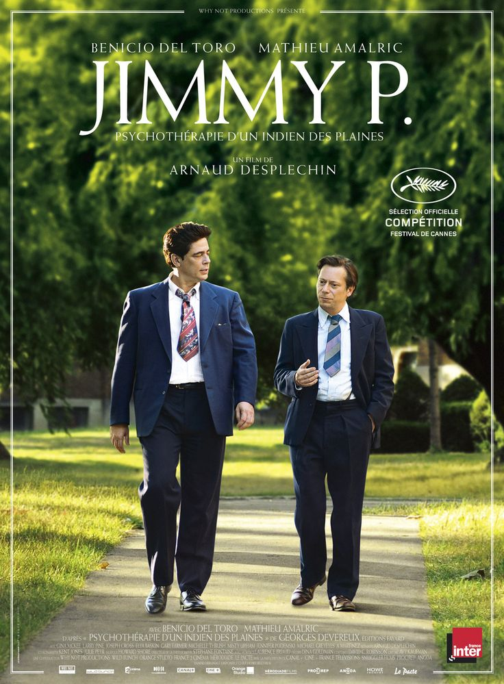 Jimmy P. est un film de Arnaud Desplechin avec Benicio Del Toro, Mathieu Amalric. Synopsis : Au lendemain de la Seconde Guerre Mondiale, Jimmy Picard, un Indien Blackfoot ayant combattu en France, est admis à l'