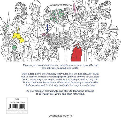 Secret London: Colouring for Mindfulness: Amazon.it: Alice Chadwick, Rosie Goodwin: Libri in altre lingue