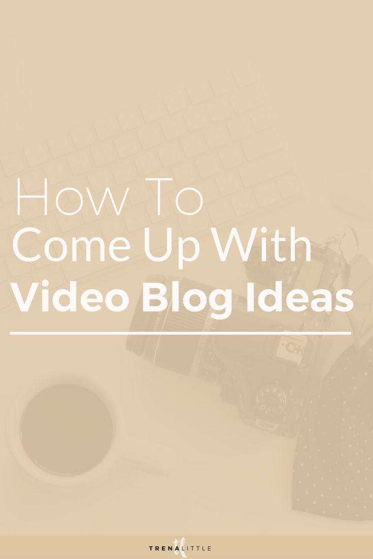 How Toe Up With Good Video Ideas