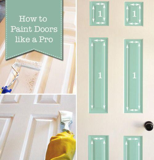 Affiché sur Entreprise de Rénovation: How to Paint Doors (The...