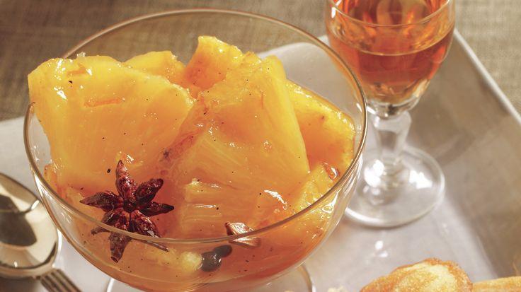 A Boozy Parisian Pineapple That Tastes Like The Holidays