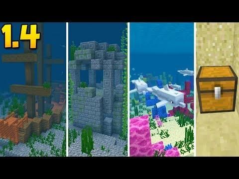 EPIC SHIPWRECK SEED With Buried Treasure, Coral Reefs, & Ruins