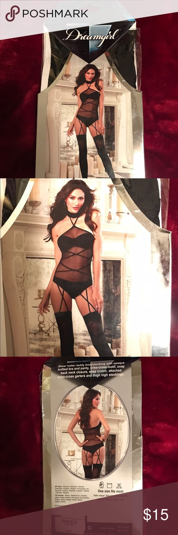 🌟 NWT💫 Dreamgirl Lingerie Never Opened 🌟 One Size Dreamgirl brand lingerie never owned, still in box. Bought at a boutique. Intimates & Sleepwear Chemises & Slips