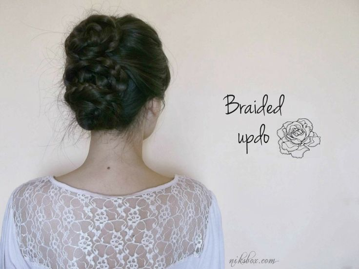 Nik's Box: Braided updo #3 / Fonott konty #3