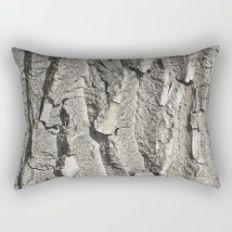 Tree Bark Rectangular Pillow
