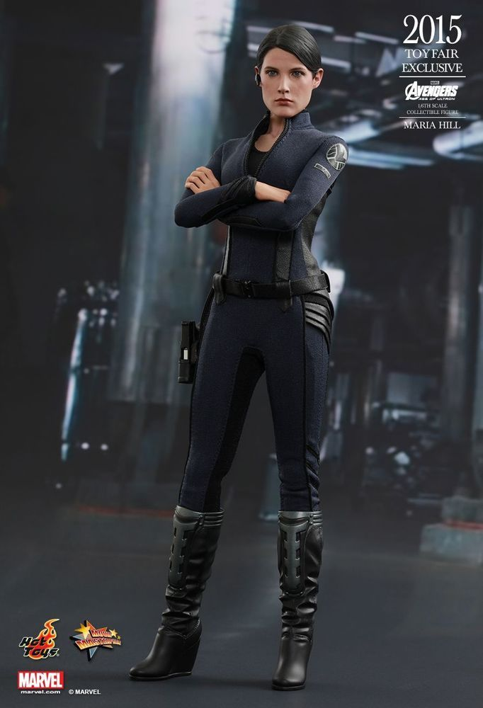 HOT TOYS 1//6 MARVEL AVENGERS EXCLUSIVE MMS305 AGENT MARIA HILL ACTION FIGURE