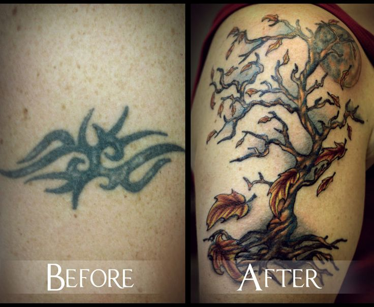 44 best images about tattoos on pinterest tribal cross for Fall tree tattoo