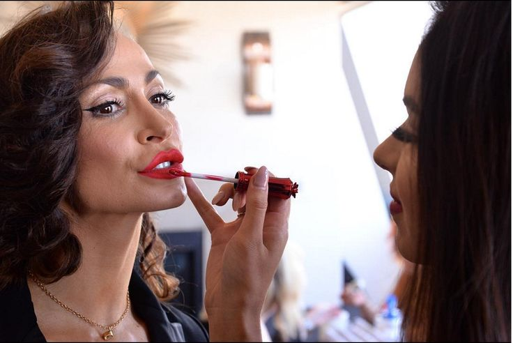 "@karina_smirnoff wearing ""Samba Kiss"" 💄💄💄💄 available now!"