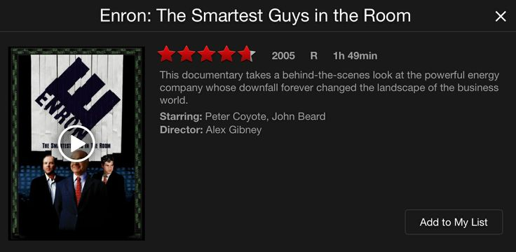 enron the smartest guys in the room 2 essay Enron: the smartest guys in the room is a 2005 american documentary film based on the best-selling 2003 book of the same name by fortune reporters bethany mc.